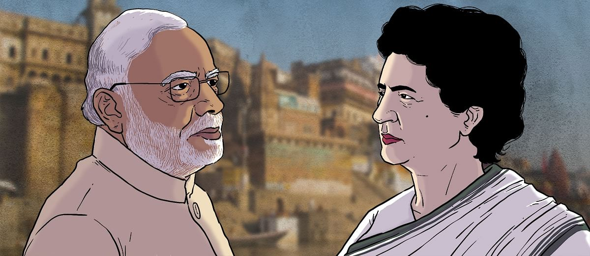 Will Priyanka Gandhi Vadra take on PM Modi in her maiden electoral battle?