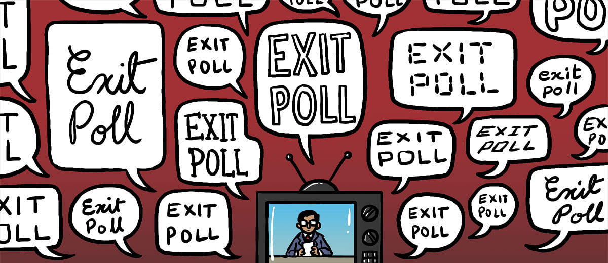 Why is TV media so muddled when it comes to exit polls?