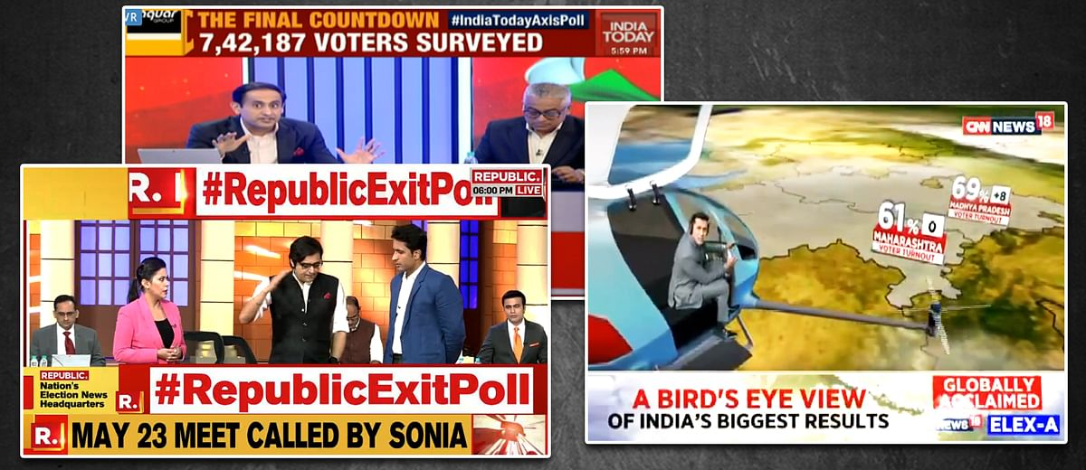 #Elections2019 LIVE: Following the exit polls on TV news