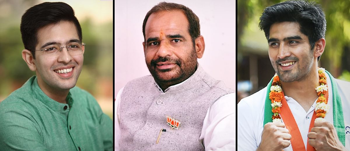 #SouthDelhi: Will Vijender Singh or Raghav Chadha upstage the BJP's sitting MP?