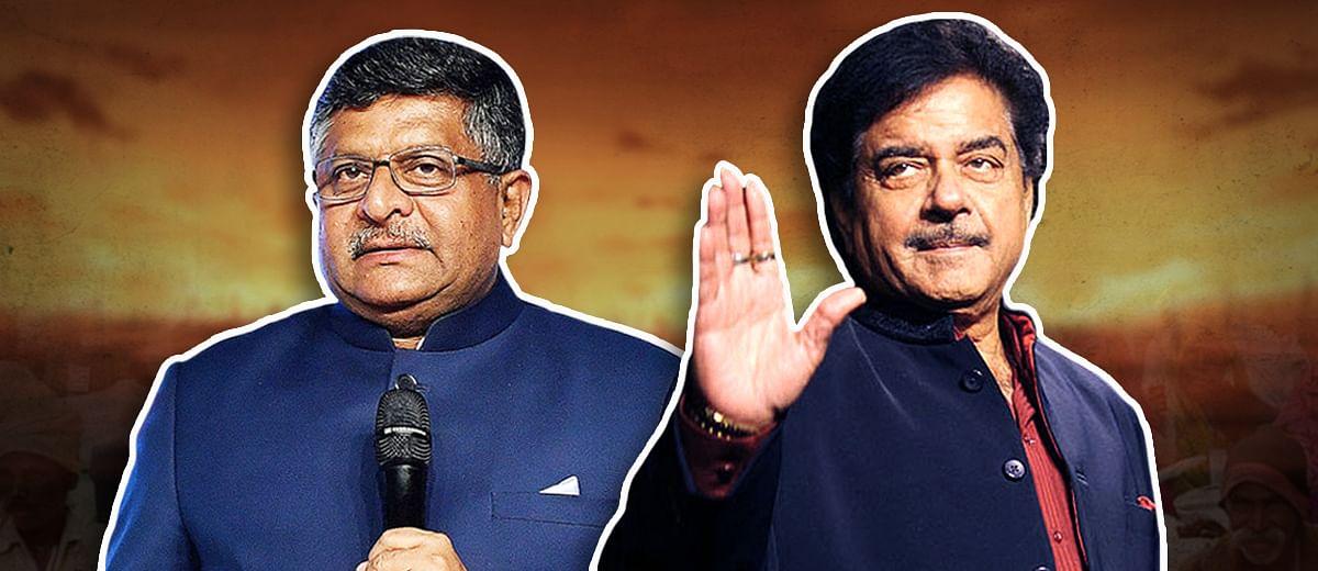 Ravi Shankar Prasad vs Shatrughan Sinha: the battle of Kayasthas in Patna Sahib