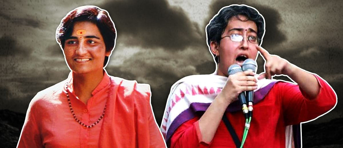 What Atishi's defeat and Pragya Singh Thakur's win tell us about India