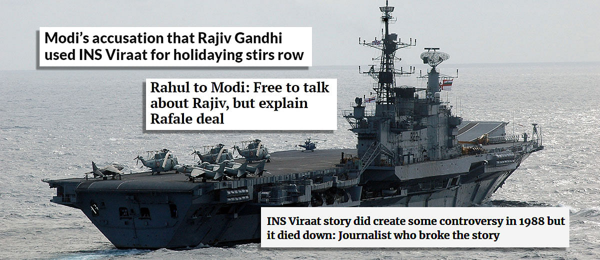 INS Viraat controversy: how the Indian media kept discrediting itself