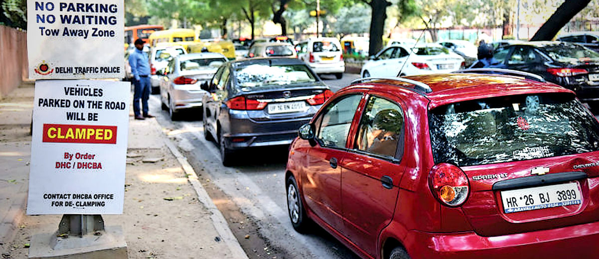 1 crore vehicles are parked in Delhi at any given time. How can the city possibly find room for all of them?