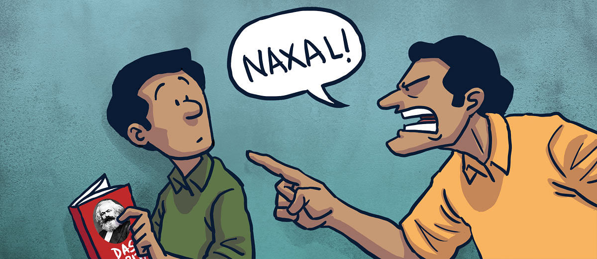 Reading this literature could make you a 'Naxal' in the eyes of the Indian state