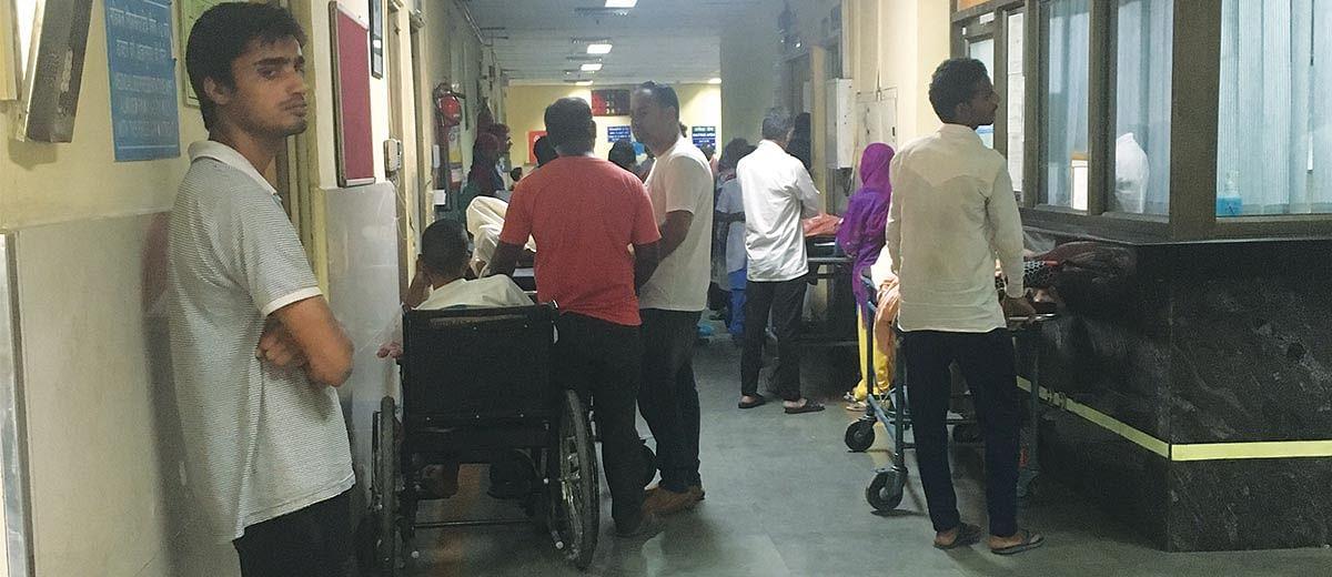 A day at Delhi's trauma centres