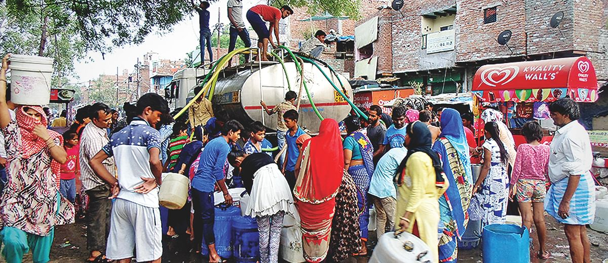 #DelhiWaterCrisis: 'The tankers are here'