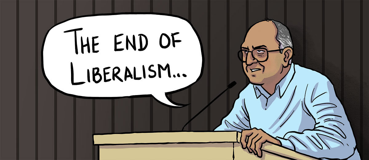 Notes from Pratap Bhanu Mehta's lecture on the end of liberalism