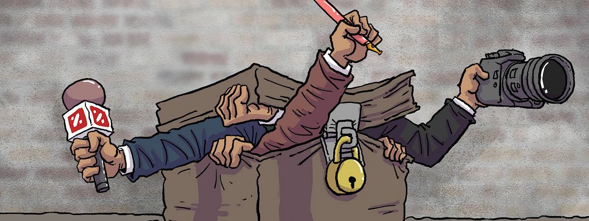 उत्तर प्रदेश: पत्रकारों के ऊपर हमले और मुकदमे की धमकियां बढ़ गई हैं