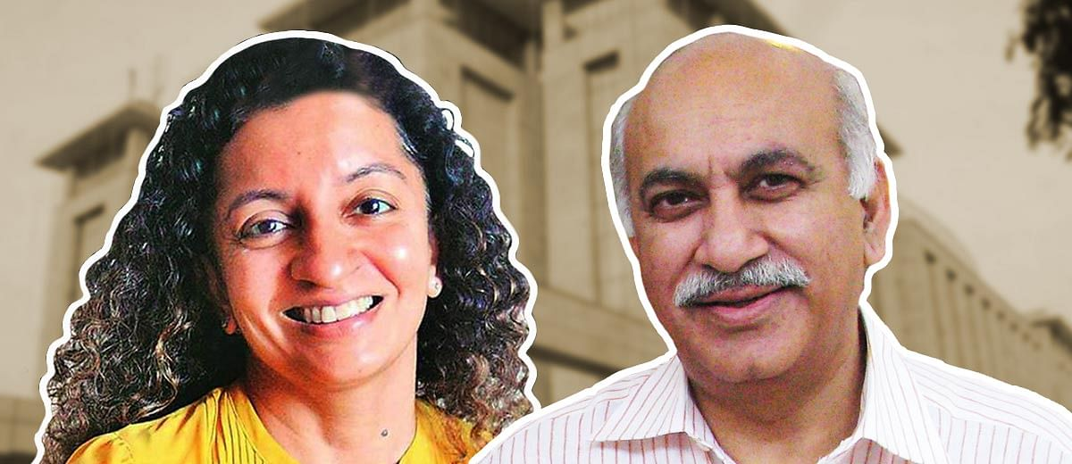 #MeToo: Denials and interruptions mark the end of MJ Akbar's cross-examination
