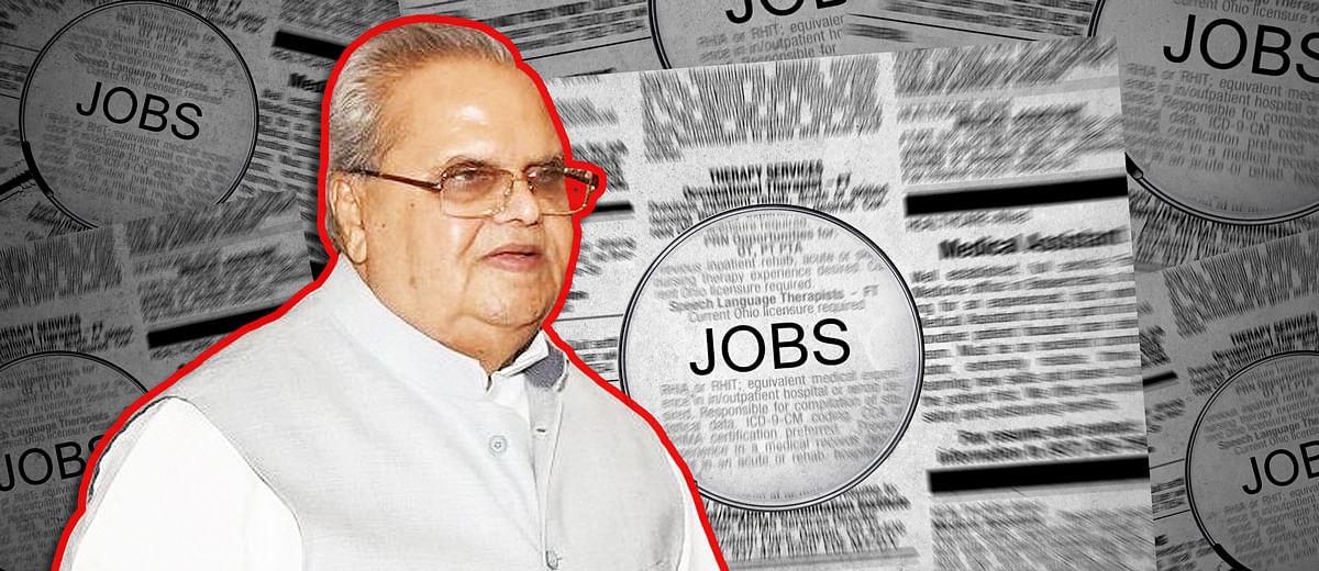कश्मीर में तीन महीने में 50 हजार युवाओं को रोजगार मिल सकता है तो बाकी राज्यों में क्यों नहीं?