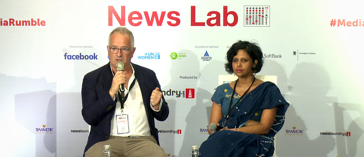 #MediaRumble: Sunetra Choudhury in conversation with David Usborne