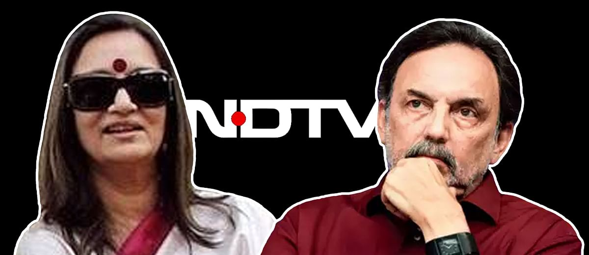 NDTV's founders prevented from leaving country, LOC issued in June