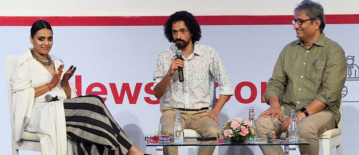 #MediaRumble: In conversation with Swara Bhasker and Ravish Kumar
