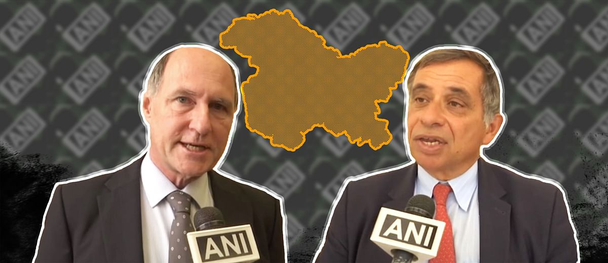 Meet ANI's 'European experts' on Kashmir. They're experts all right — just not on Kashmir