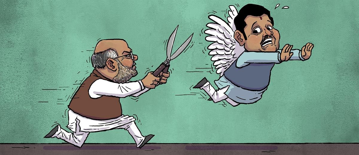 Maharashtra election: Is the BJP top brass trying to clip Devendra Fadnavis's wings?