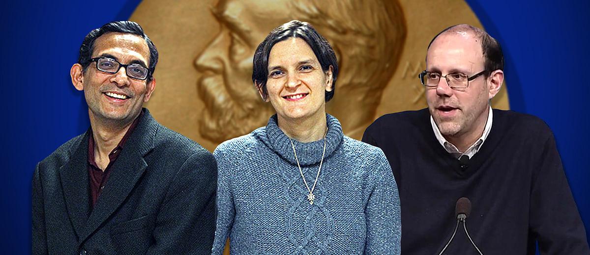 What did Abhijit Banerjee, Esther Duflo and Michael Kremer do to win the economics Nobel?