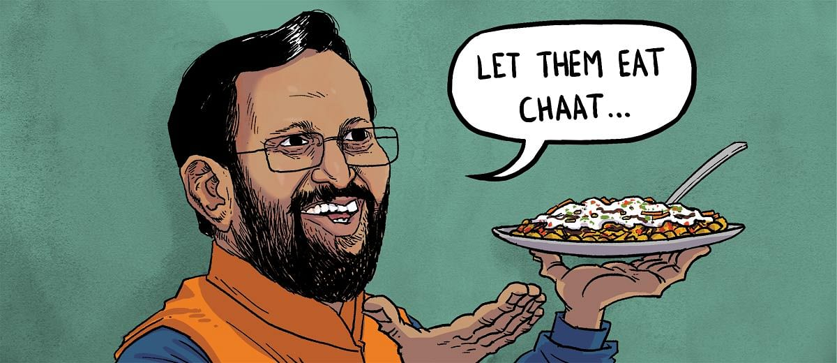 Dear taxpayer, you're throwing a chaat party for journalists at Prakash Javadekar's place tonight