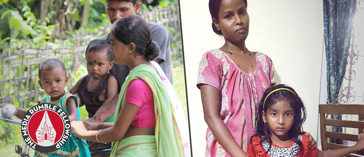 For girls of Assam's poor communities, lack of education and healthcare means early marriage, childbirth