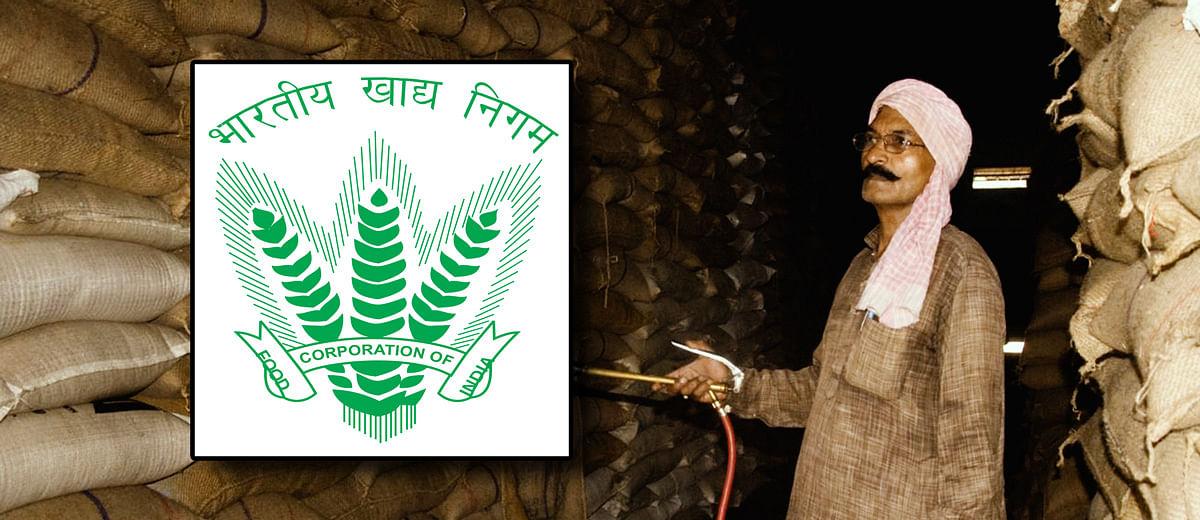 अब फूड कॉरपोरेशन ऑफ इंडिया की हालत पस्त