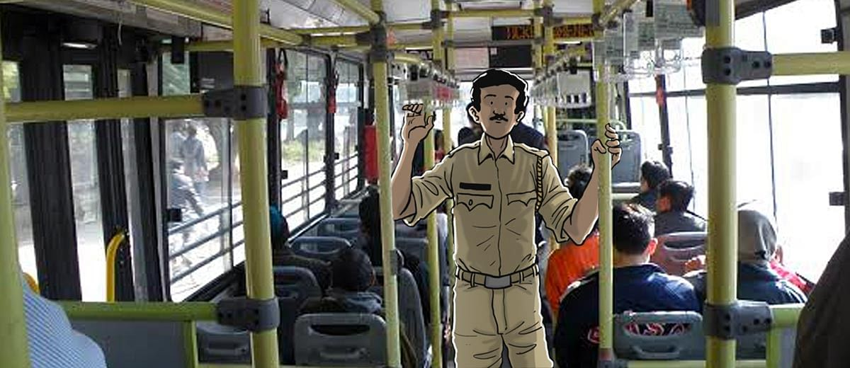 Riding with the marshals: How did the first day of Delhi's new bus guards go?