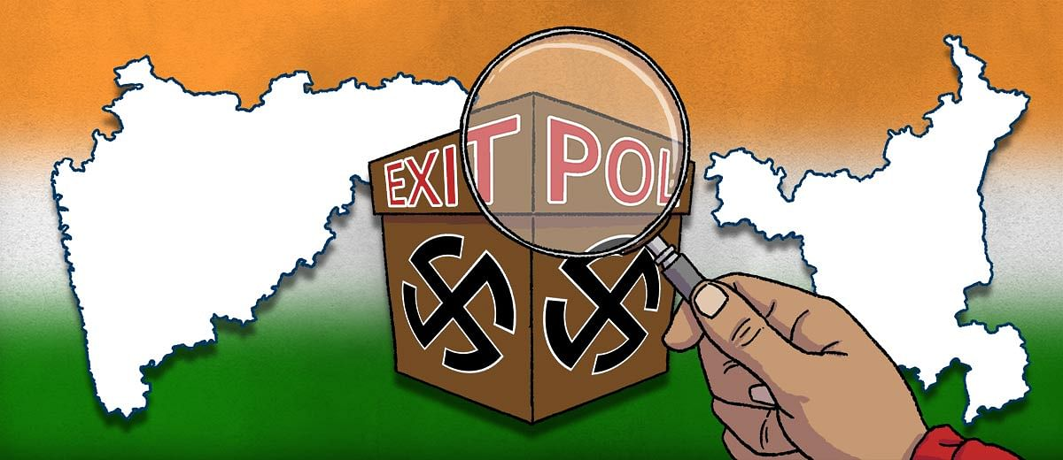 It's a clean sweep for the BJP in Maharashtra and Haryana — and exit polls agree