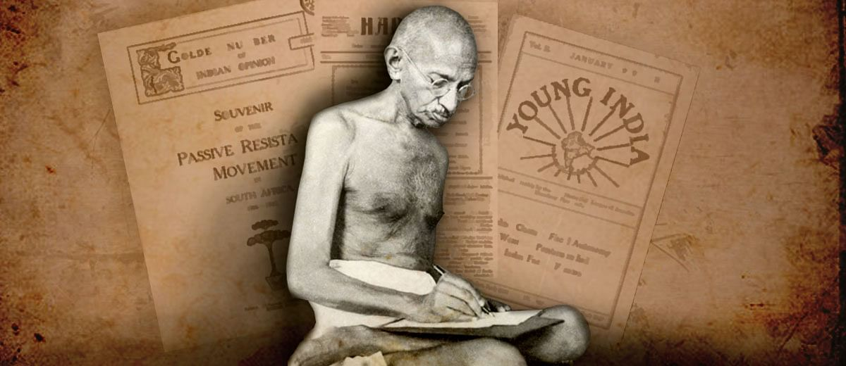 Meet Mahatma Gandhi, the journalist: 'When a newspaper is a means of making profit, serious malpractices are likely'