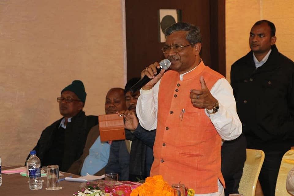बाबूलाल मरांडी: 'अबकी बार बीजेपी और रघुवर दास झारखंड पार'