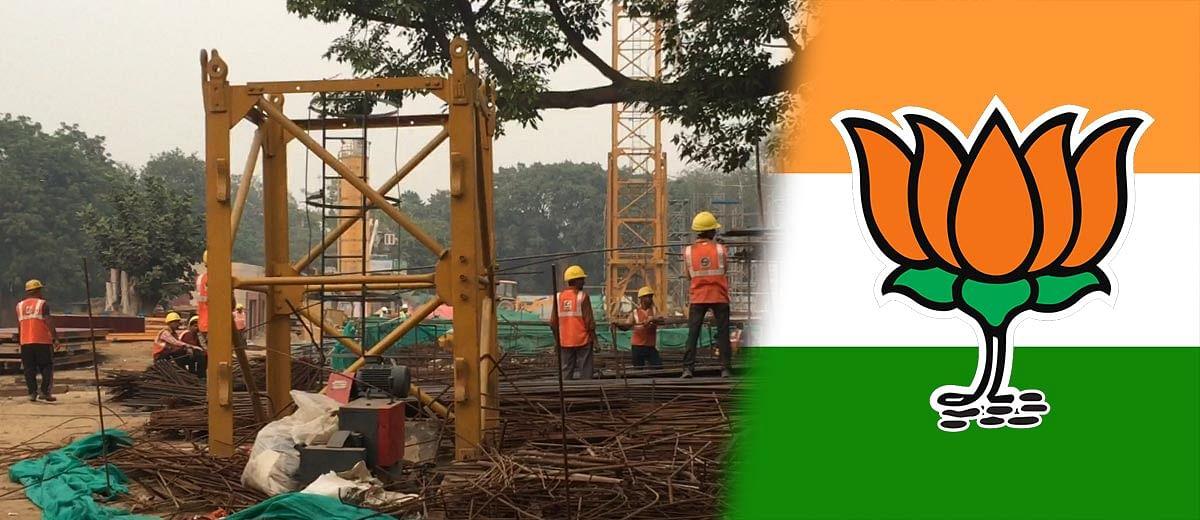 Despite SC ban, no full stops for construction work at BJP's Delhi HQ