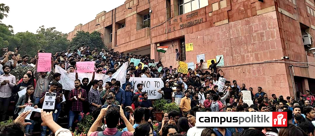 CRPF on campus, vice chancellor 'missing': What's happening at JNU?