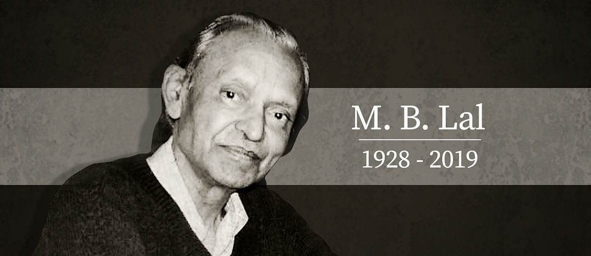 Writer, reporter, friend, philosopher: Remembering the magic of MB Lal