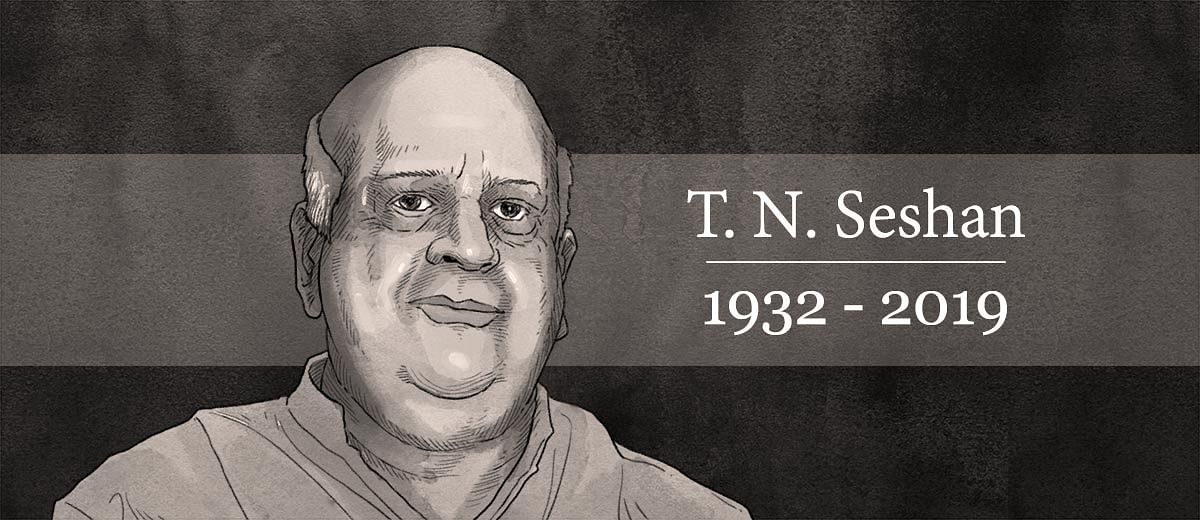 TN Seshan: The crusader and newsmaker India needed in the 1990s