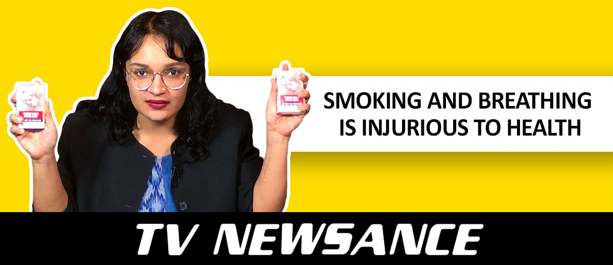 TV Newsance Episode 67: Republic Bharat on 'Pollution Ka Solution' and the news mela at Rajeev Chowk