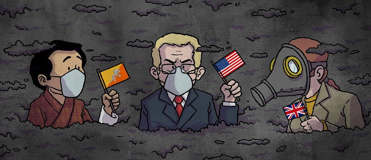 How are foreign diplomats coping with Delhi's toxic air?