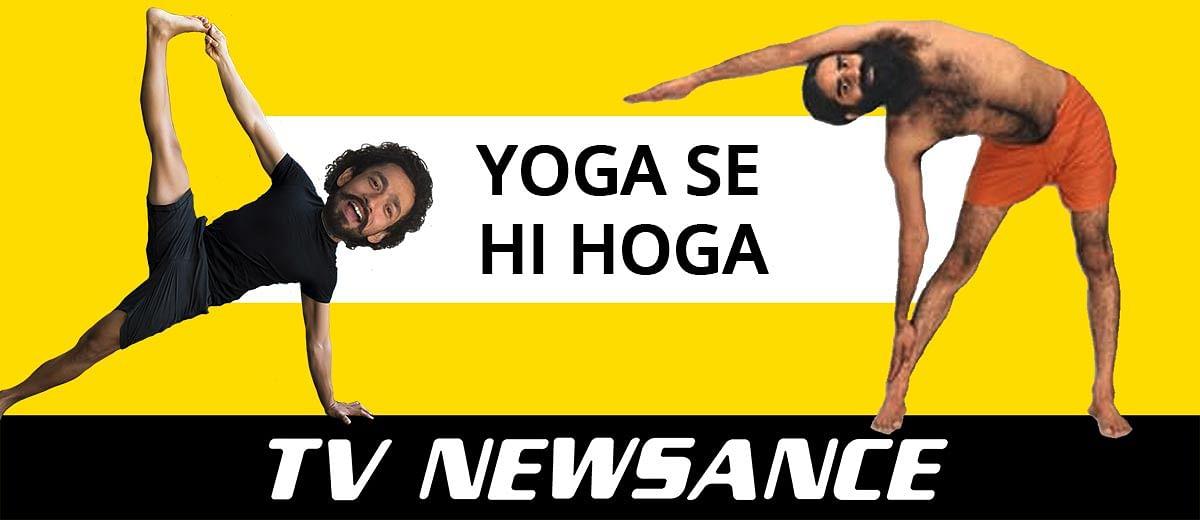 TV Newsance Episode 68: Ramdev on Republic Bharat and some yoga masti
