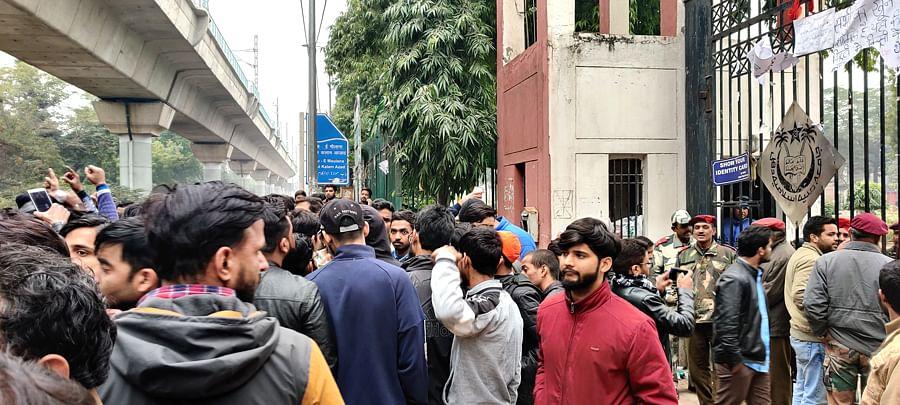 'Our university isn't safe. Where do we go?' Jamia Millia VC's assurances fail to assuage students' anger, fear