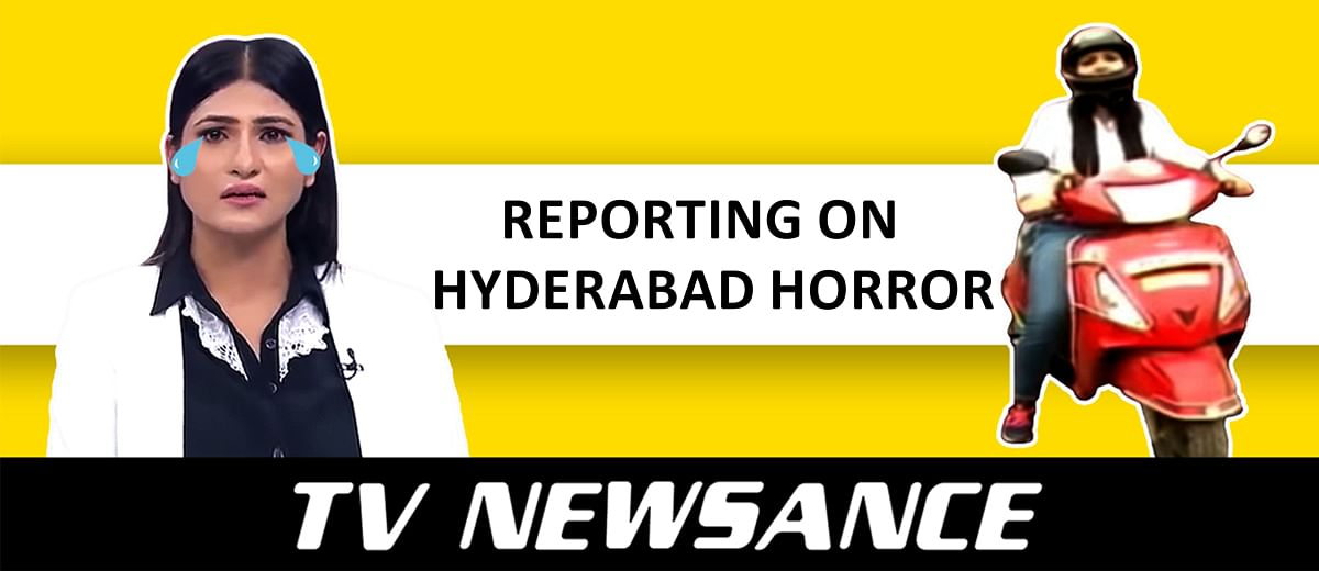 TV Newsance Episode 70: ABP News and Aaj Tak's drama-reporting on Hyderabad rape case