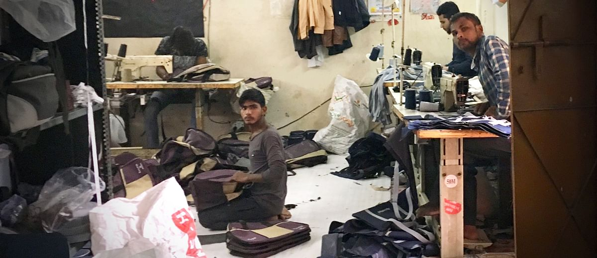 'I stitch bags for big brands but barely earn enough to eat': Anaj Mandi tailor recounts working for 10 years at the gutted factory