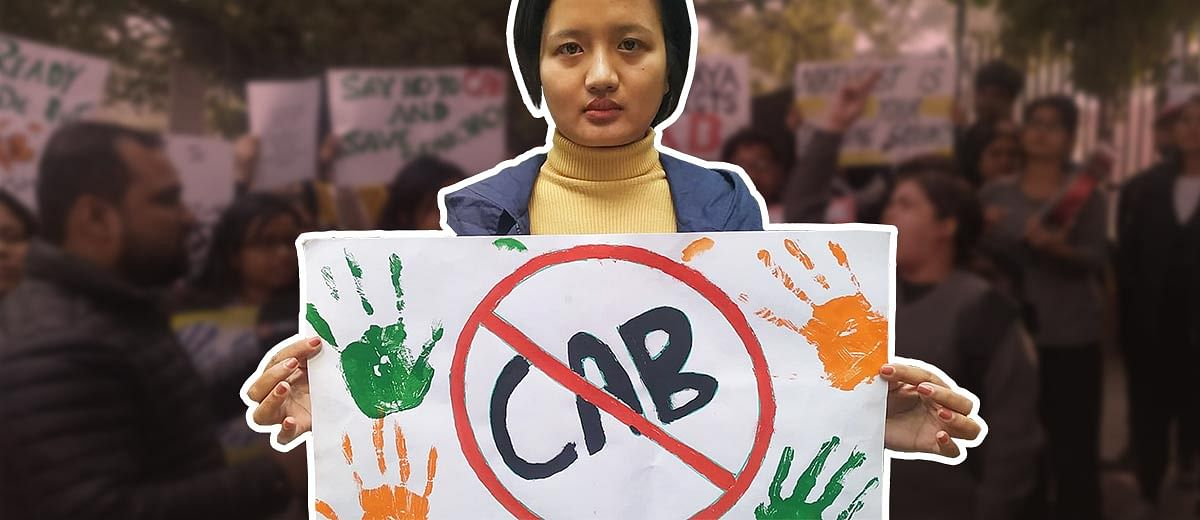 'Unconstitutional and a threat to the Northeast': Students and citizens unite against Citizenship Bill in Delhi