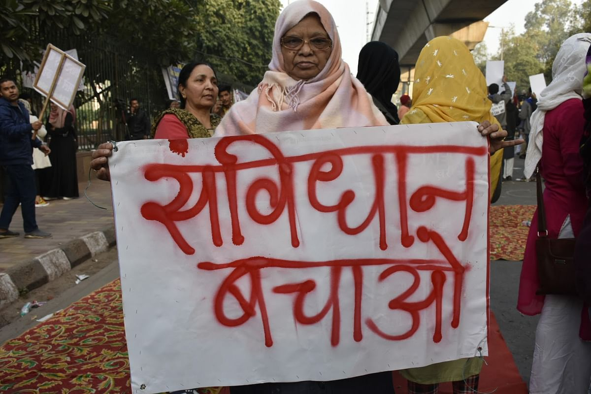 In pictures: At Jamia Millia, women are at the forefront of citizenship law protests