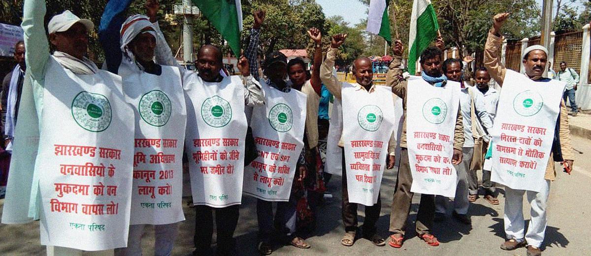 झारखंड चुनाव: 2.5 करोड़ जंगलवासियों के वनभूमि अधिकार के मुद्दे पर भाजपा खामोश
