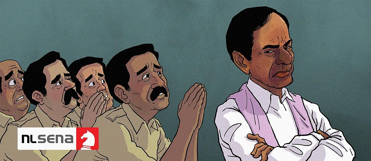 Attacks on the press and doublespeak: How the KCR regime is bungling Telangana's Covid fight