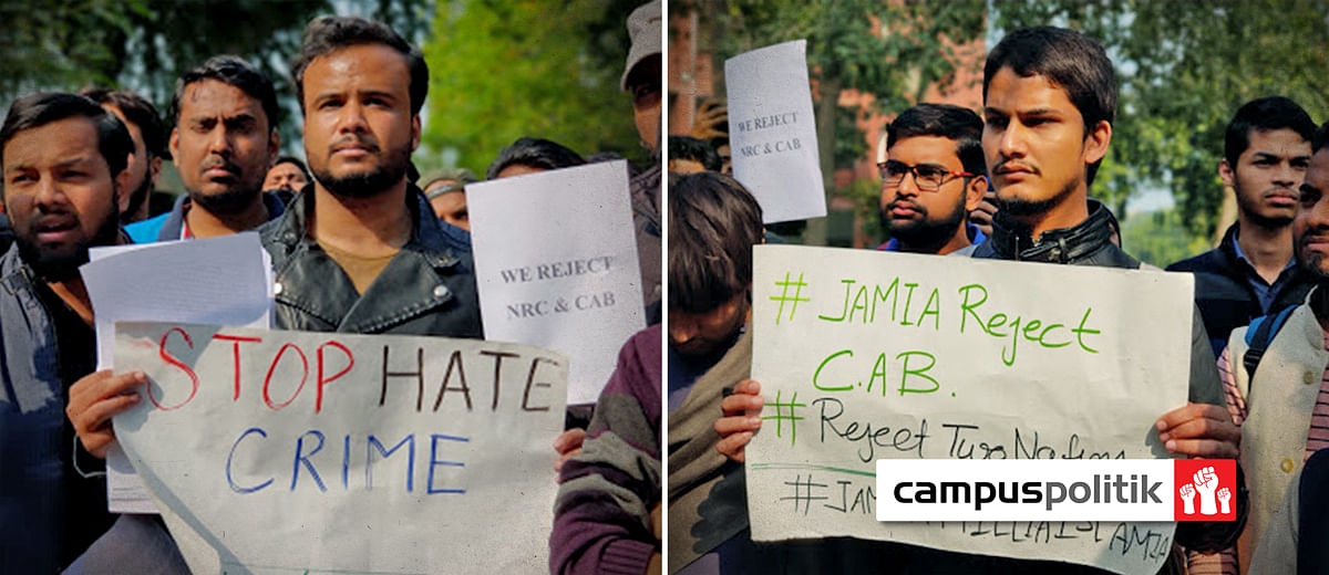 'It follows the Israel blueprint': Students across India protest against Citizenship Bill