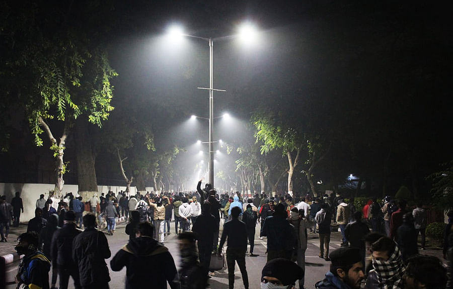 'Stop slapping them, they'll die': An eyewitness account of police crackdown on AMU protest against citizenship law