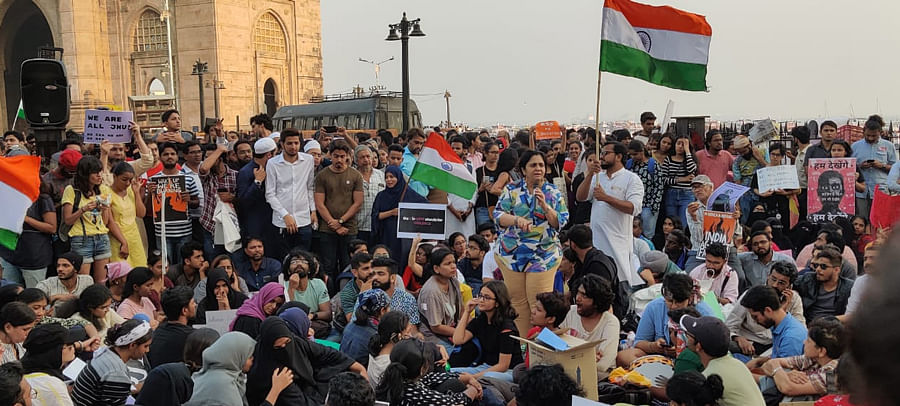 'This is a festival of democracy': What it's like to Occupy Gateway of India for two nights