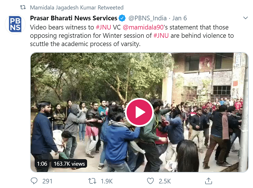 Why Prasar Bharati's tweet-rebuttal to Alt News is lame and lazy