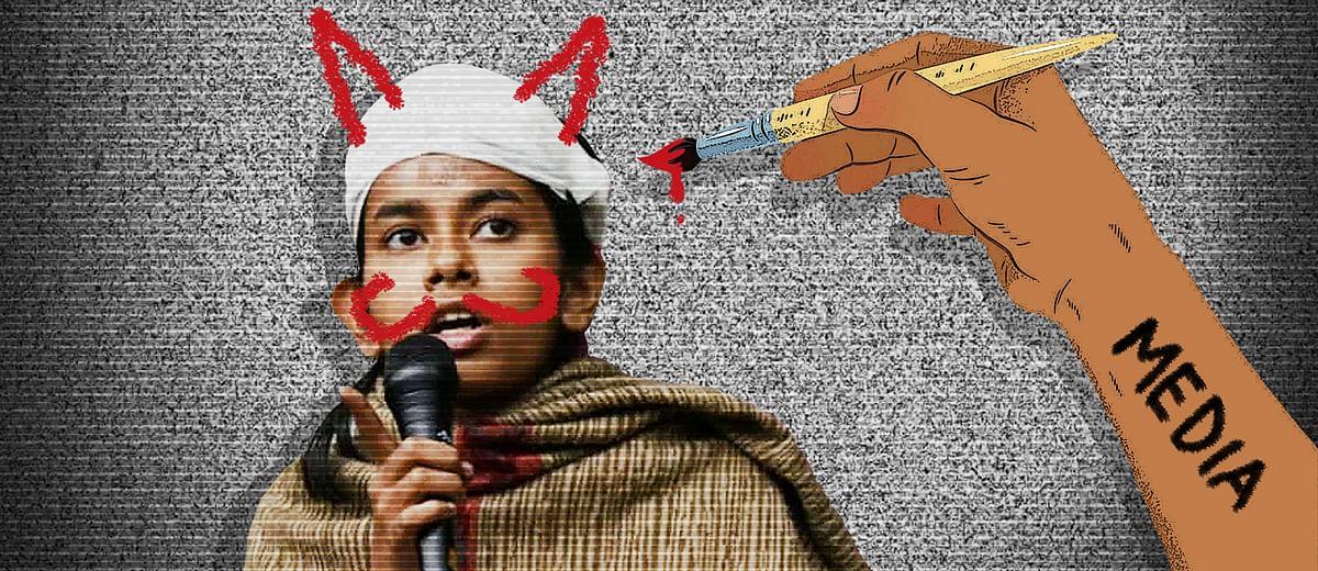 Lies, false equivalence, diversions, ad hominem attacks: That's TV media's spin on JNU violence