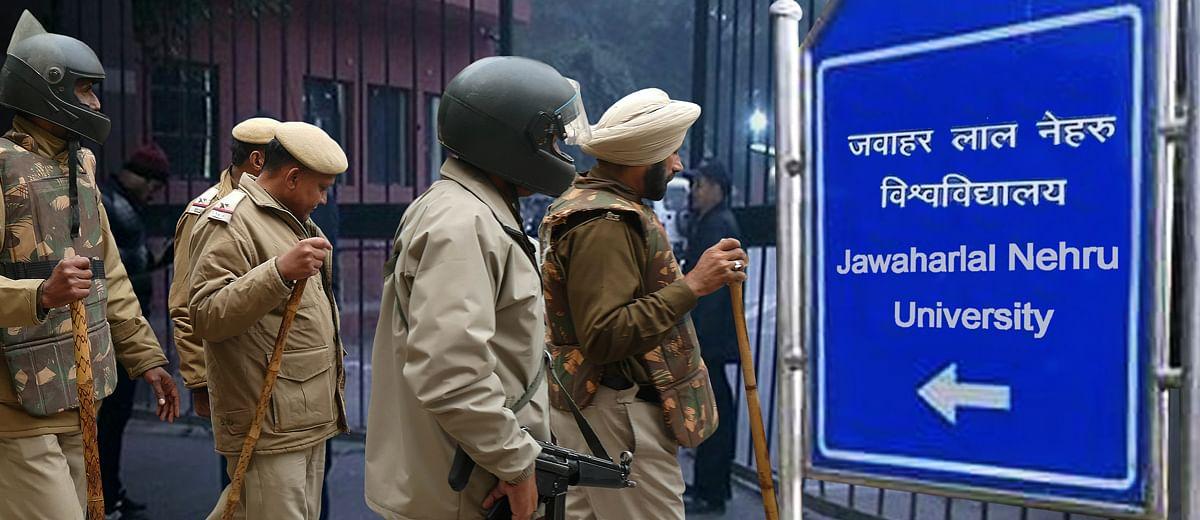 JNU violence: How the Delhi police played blind