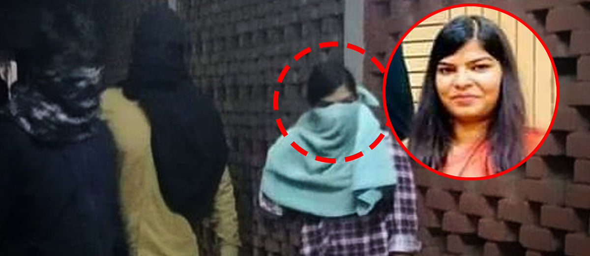 JNU violence: Masked girl in viral picture of mob attack is Delhi University student Komal Sharma?