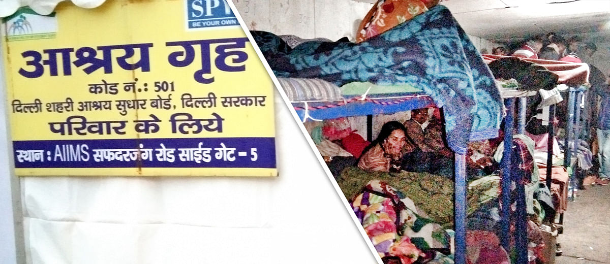 Over 2,40,000 homeless, not even 300 night shelters: Delhi is struggling to save its rough sleepers from the harsh winter